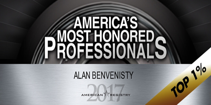 Award America's Most Honored Professionals