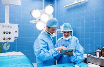 Surgeons Preparing to Perform Vascular Surgery